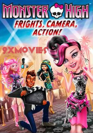 Monster High Frights, Camera, Action 2014 Dual Audio Hindi 720p BluRay 750mb