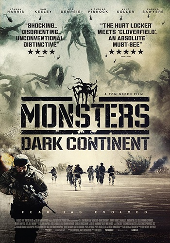 Monsters – Dark Continent 2014 BRRip UNCUT 720p Dual Audio Hindi 1GB