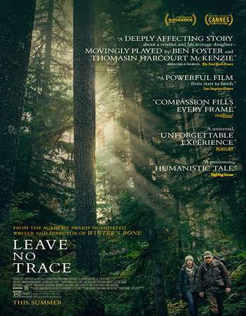 Leave No Trace 2018 English 300MB Web-DL 480p ESubs