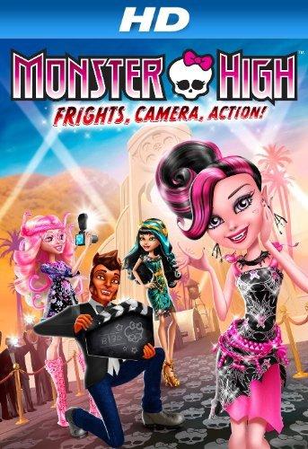 Monster High Frights Camera Action 2014 BRRip 720p Dual Audio Hindi 700MB