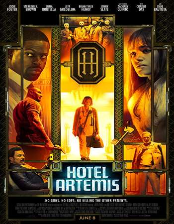 Hotel Artemis 2018 English 720p BRRip 700MB ESubs