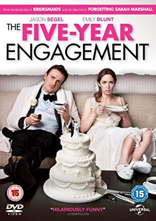 Five Year Engagement 2012 Dual Audio [Hindi – English] 720p 950MB BRRip