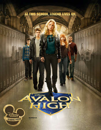 poster of Avalon High 2010 Hindi Dual Audio 250MB