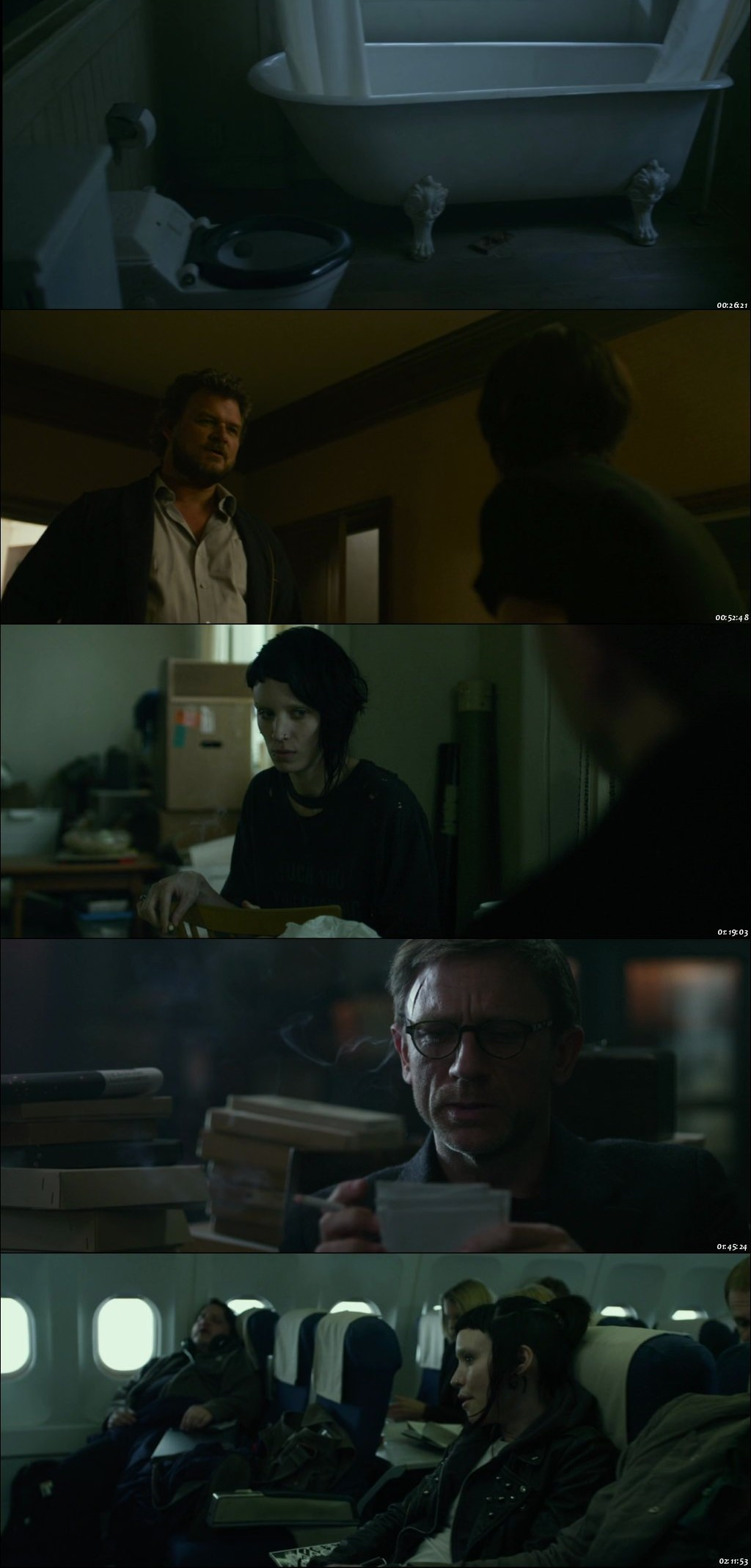 the girl with the dragon tattoo in hindi 720p
