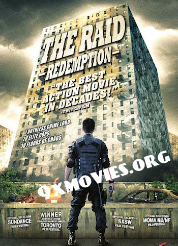 The Raid Redemption 2011 Dual Audio Hindi Bluray Movie Download