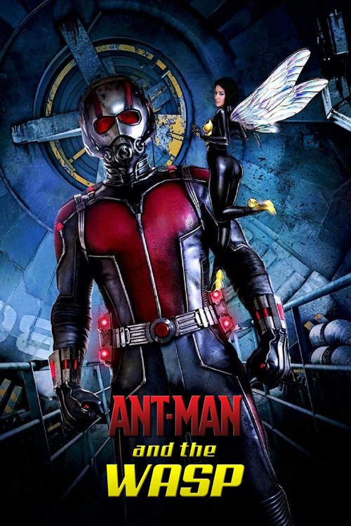 Ant-Man and the Wasp 2018 Dual Audio Hindi-Eng 720p 850MB Web-DL