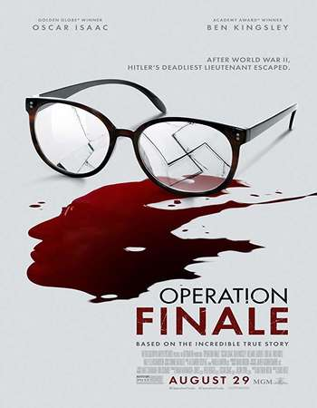 Operation Finale 2018 English 350MB Web-DL 480p MSubs