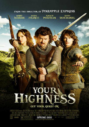 Your Highness 2011 Dual Audio [Hindi – English] 720p 750MB BRRip
