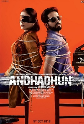 Andhadhun 2018 Hindi 720p 700MB pDVDRip