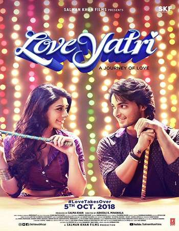 Loveyatri 2018 Hindi 600MB HDRip 720p ESubs HEVC