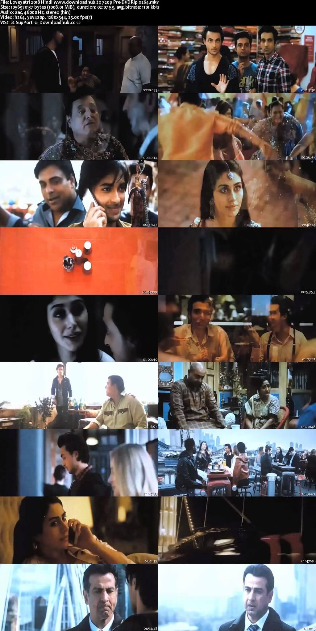 Loveyatri 2018 Hindi 720p Pre-DVDRip x264