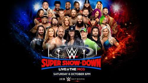 WWE Super Show Down 6th October 2018 900MB