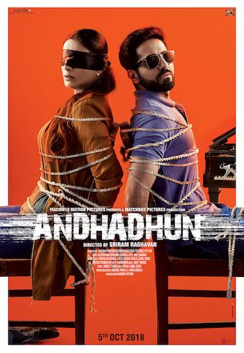 Andhadhun 2018 Hindi 720p pDVDRip 850mb Download