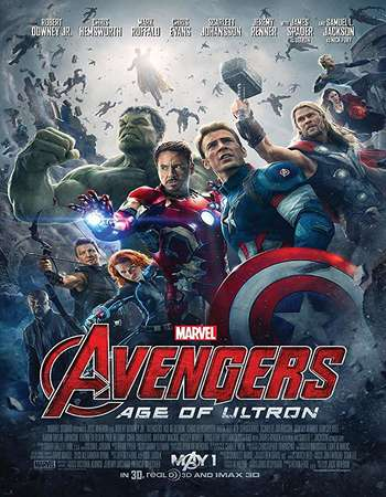 Avengers Age of Ultron 2015 Hindi Dual Audio BRRip Full Movie 720p HEVC Free Download