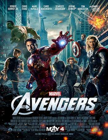 The Avengers 2012 Hindi ORG Dual Audio 720p BluRay ESubs