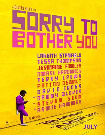 Sorry to Bother You 2018 Full English Movie 720p Download