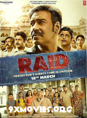 Raid 2018 Hindi Bluray Movie Download