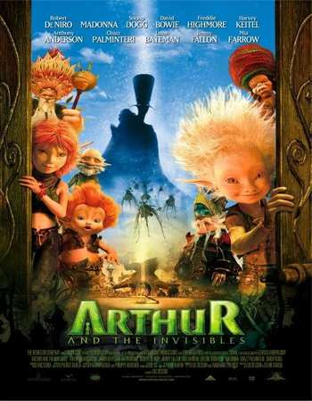 Arthur and the Invisibles 2006 Hindi Dual Audio BRRip Full Movie 720p Free Download