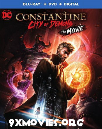 Constantine City of Demons The Movie 2018 English 720p BRRip 800MB ESubs