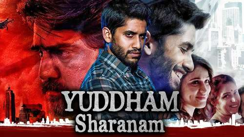Yuddham Sharanam 2018 Hindi Dubbed 720p HDRip x264