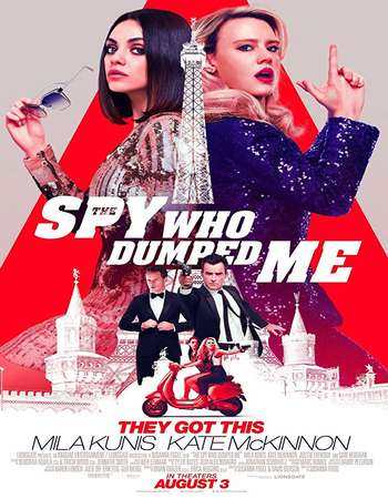 The Spy Who Dumped Me 2018 Hindi Dual Audio 550MB BluRay 720p ESubs HEVC