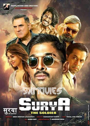 Surya The Soldier 2018 Hindi Dubbed ORG 720p HDRip 1.1GB