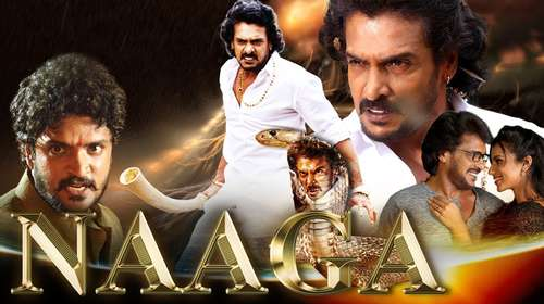 Naaga 2018 Hindi Dubbed 300MB HDRip 480p
