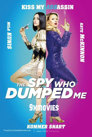 The Spy Who Dumped Me 2018 English 720p HDRip 950MB