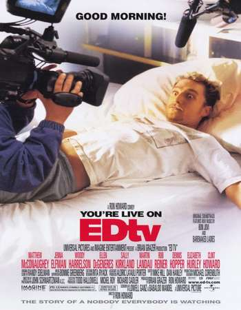 Edtv 1999 Hindi Dual Audio 350MB BluRay 480p ESubs