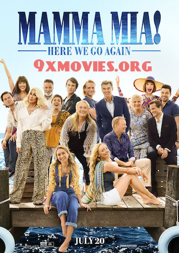 Mamma Mia Here We Go Again 2018 English 720p BRRip 1GB ESubs