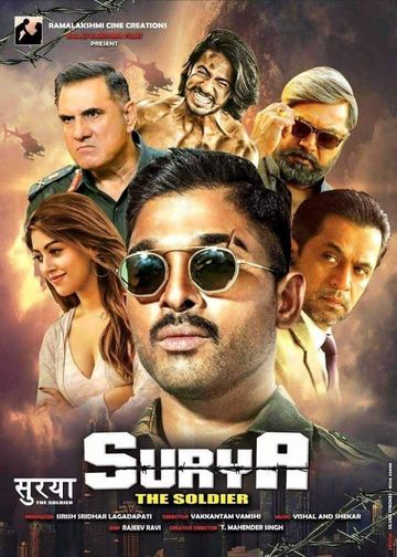 Surya The Soldier 2018 Hindi 720p 1.4GB HDRip x264