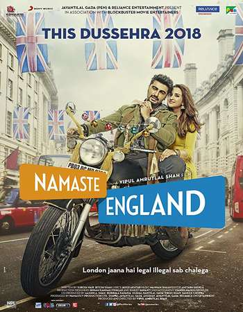 Namaste England 2018 Full Hindi Movie 720p HEVC HDRip Free Download