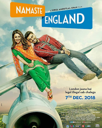 Namaste England 2018 Hindi pDVDRip x264 700MB