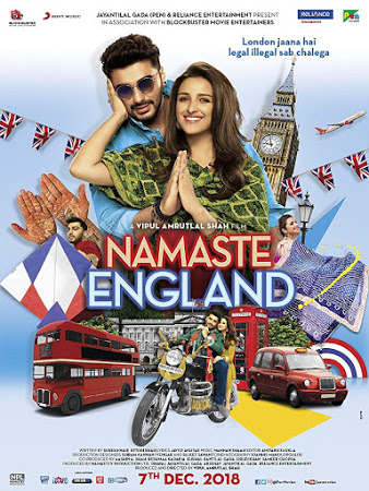 Namaste England 2018 Hindi 720p 700MB pDVDRip