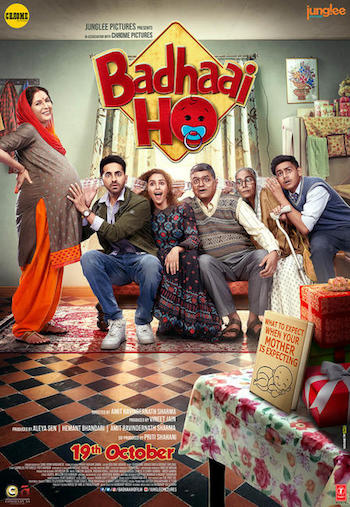 Badhaai Ho 2018 Hindi pDVDRip x264 700MB