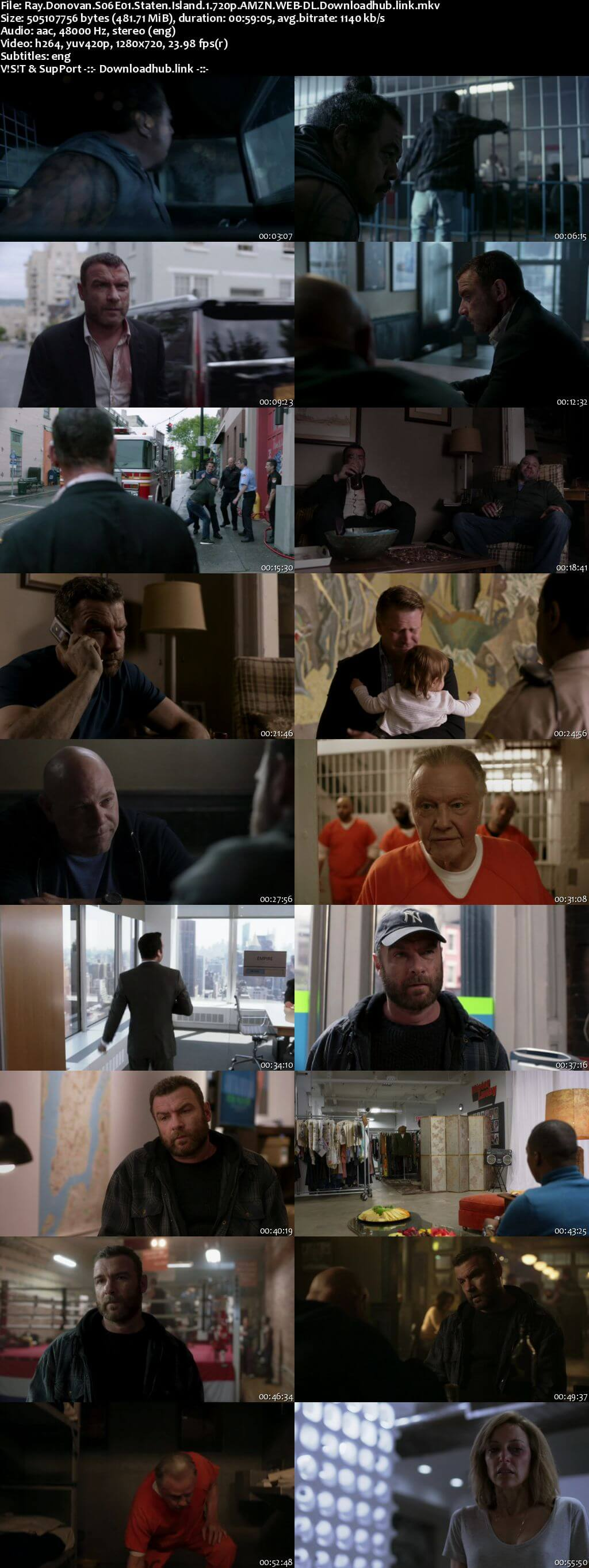 Ray Donovan S06E01 450MB AMZN WEB-DL 720p ESubs