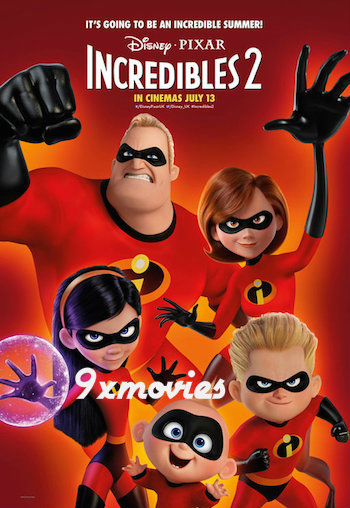 Incredibles 2 2018 Dual Audio Hindi 720p WEB-DL 1GB