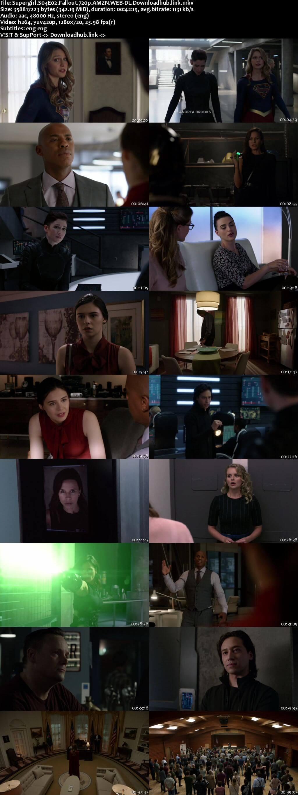 Supergirl S04E02 340MB AMZN WEB-DL 720p ESubs
