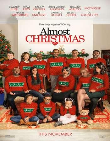 Almost Christmas 2016 Hindi Dual Audio BRRip Full Movie 480p Free Download