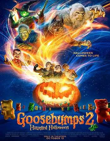 Goosebumps 2 Haunted Halloween 2018 Hindi ORG Dual Audio 450MB BluRay 720p ESubs HEVC