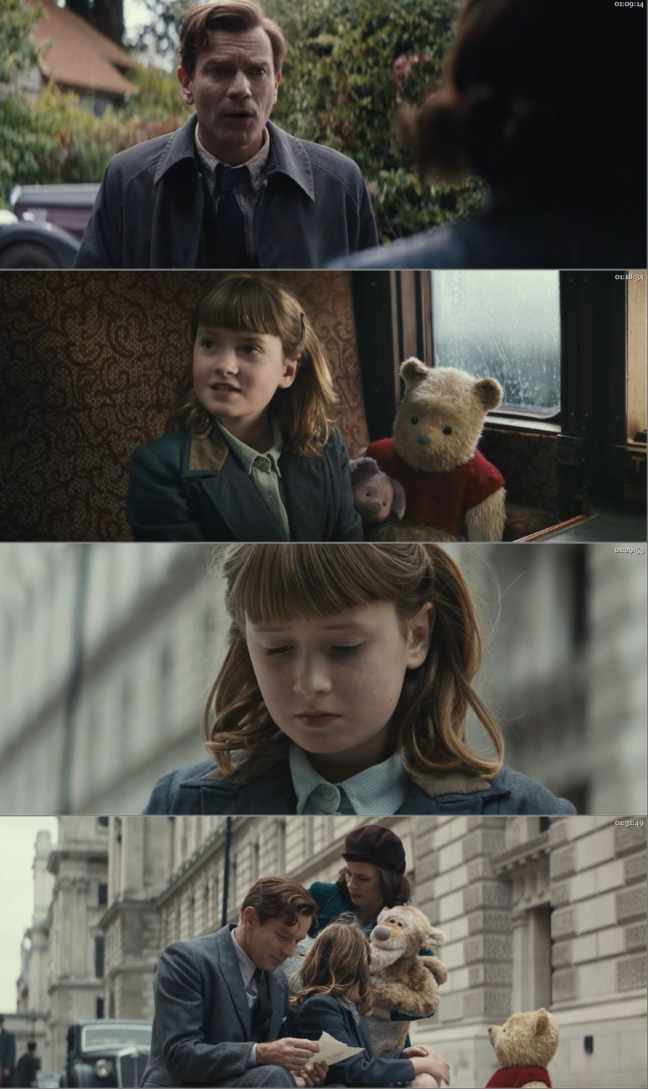 Christopher Robin 2018 Dual Audio Hindi BluRay Full Movie Download HD