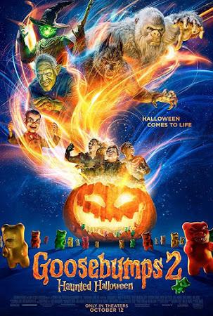 Goosebumps 2: Haunted Halloween 2018 Clean [Hindi-Eng] 720p 750MB HDTS