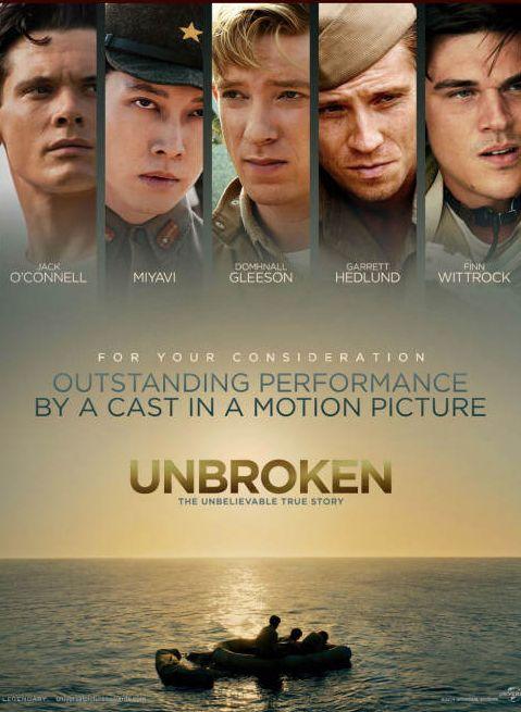Unbroken 2014 Dual Audio [Hindi – English] 720p 1GB BRRip