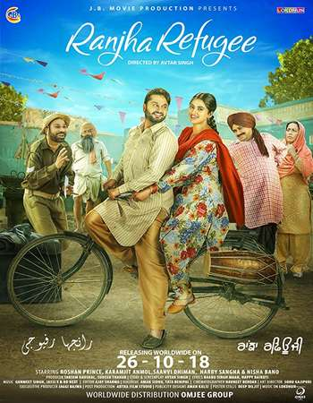 Ranjha Refugee 2018 Punjabi 700MB Pre-DVDRip x264