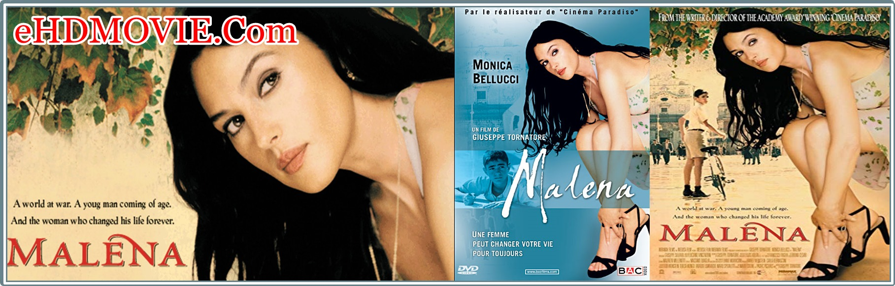 Malèna 2000 Full Movie UNCUT English 720p - 480p ORG BRRip 400MB - 900MB ESubs Free Download