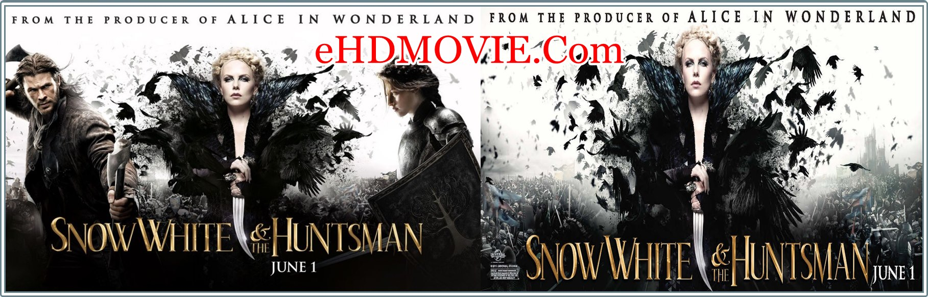 Snow White and the Huntsman 2012 Full Movie Dual Audio [Hindi – English] 1080p - 720p - 480p ORG BRRip 400MB - 900MB - 2.3GB ESubs Free Download