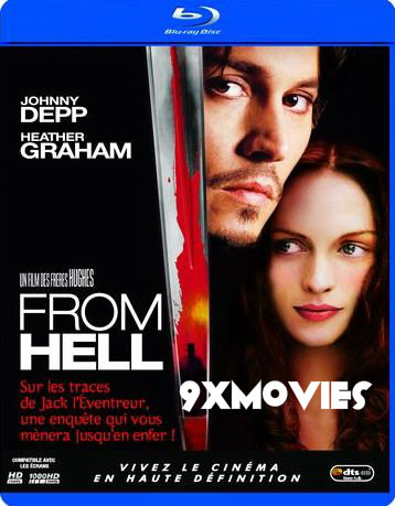 From Hell 2001 English 720p BRRip 850MB ESubs