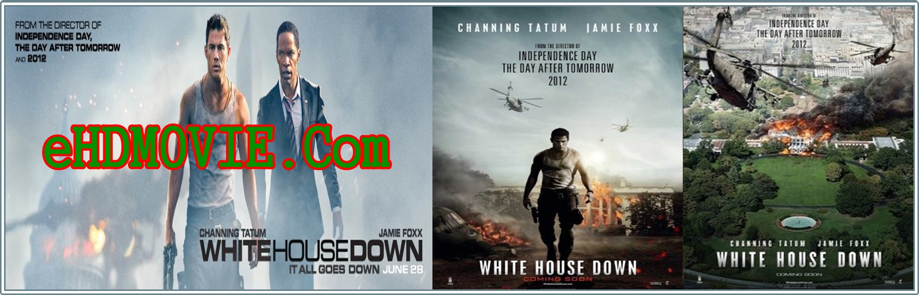 White House Down 2013 Full Movie Dual Audio [Hindi – English] 720p - HEVC ORG BRRip 550MB - 950MB ESubs Free Download