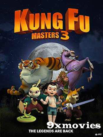 Kung Fu Masters 3 2018 English 720p WEB-DL 750MB ESubs