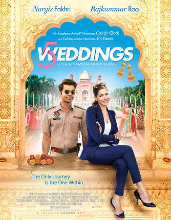 5 Weddings 2018 Hindi 280MB HDRip 480p ESubs